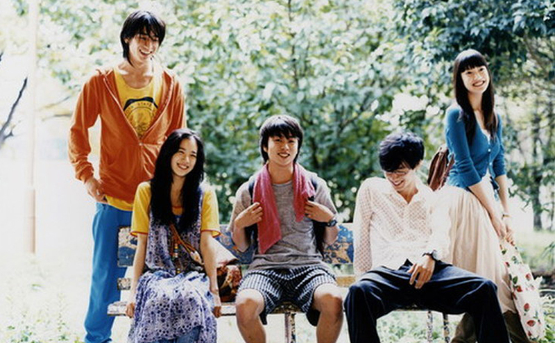 El nacimiento de las Mori girls Honey and clover. Live action