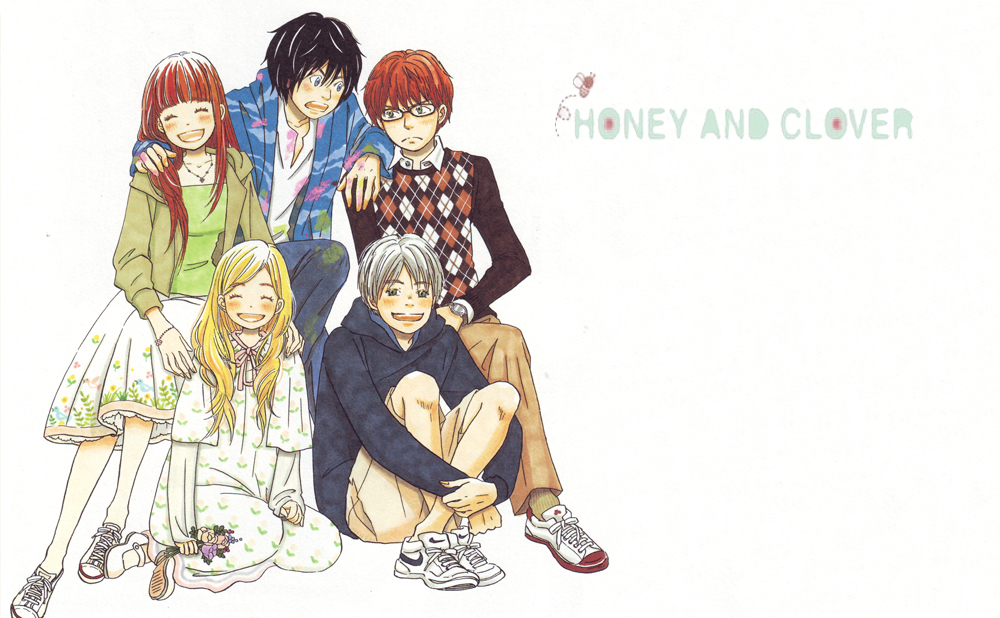El nacimiento de las Mori girls Honey and clover, Mori Kawaii