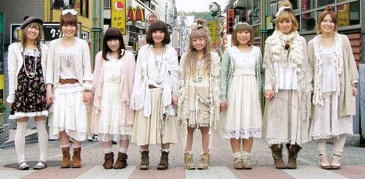 El nacimiento de las Mori girls