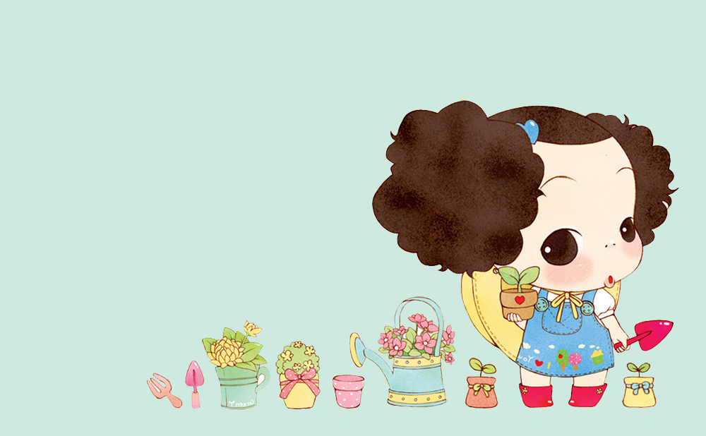 Descubriendo a Ddung, de jardinera