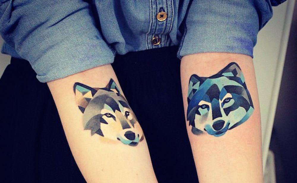 Tattoos lobos