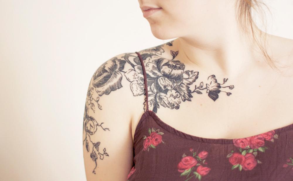 005_Tattoo flores