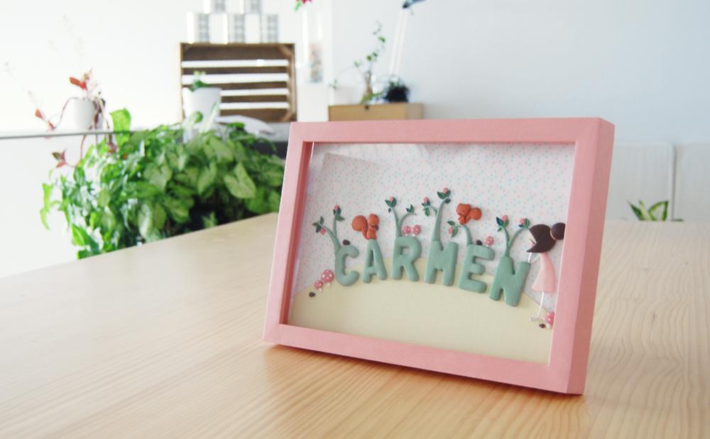 cuadro para Carmen