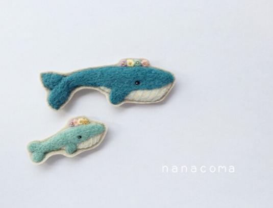 Nanacoma, ballenas