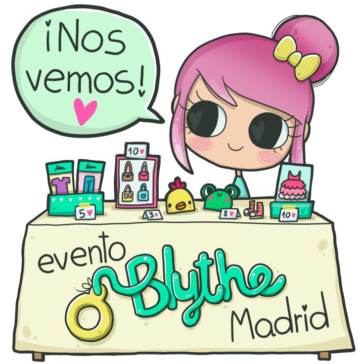 evento Blythe Madrid Nos vemos
