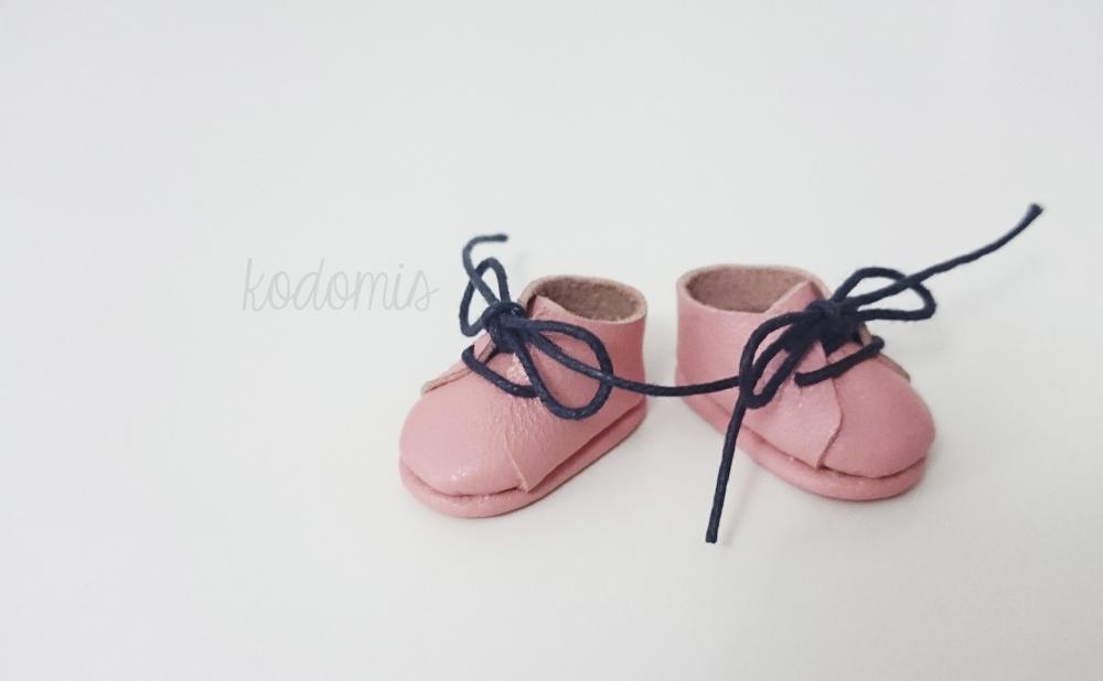 Zapatos para Blythe rosas 05