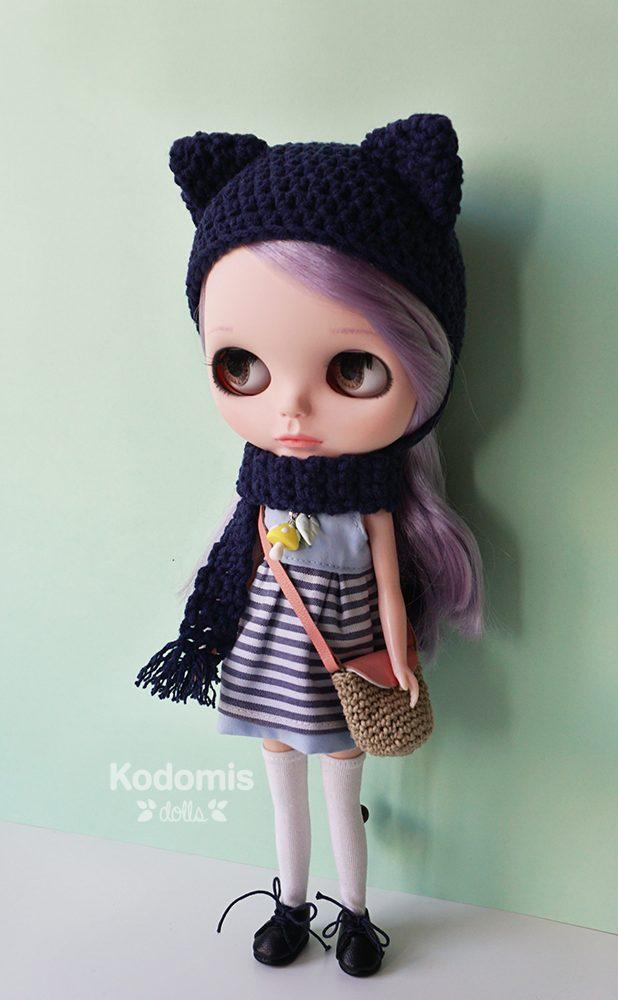 Blythe custom Kodomis, Mei outfit completo