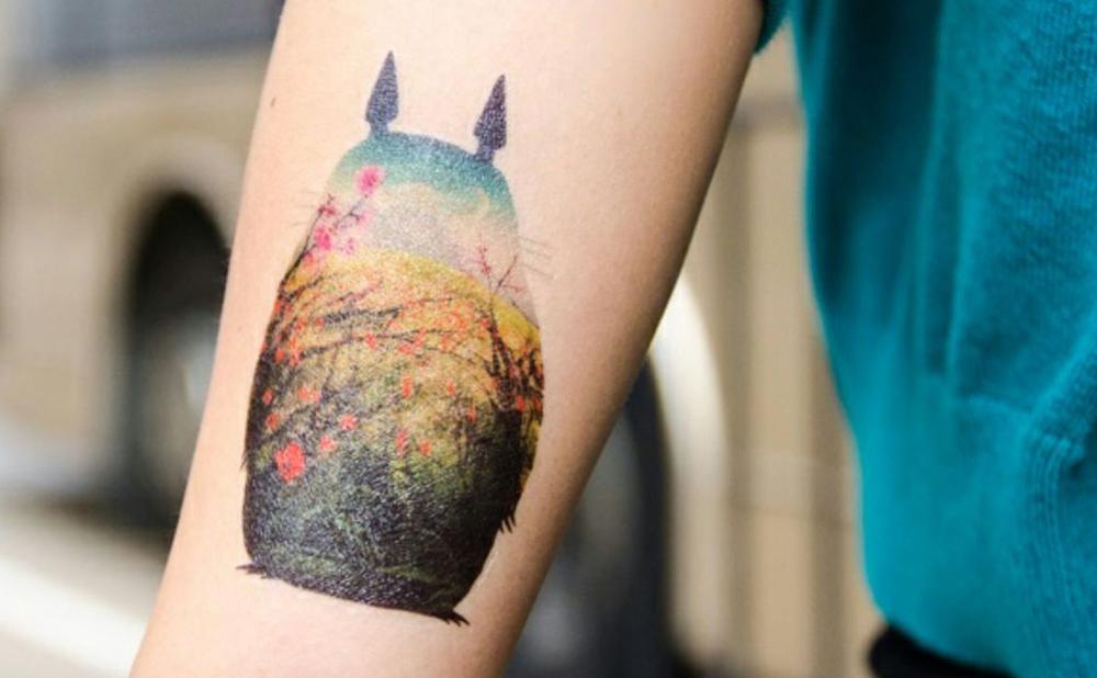005_Tattoo totoro