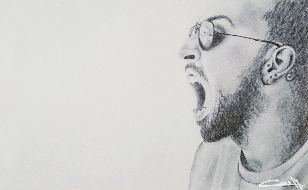 Dibujo a lápiz Retrato 01_4