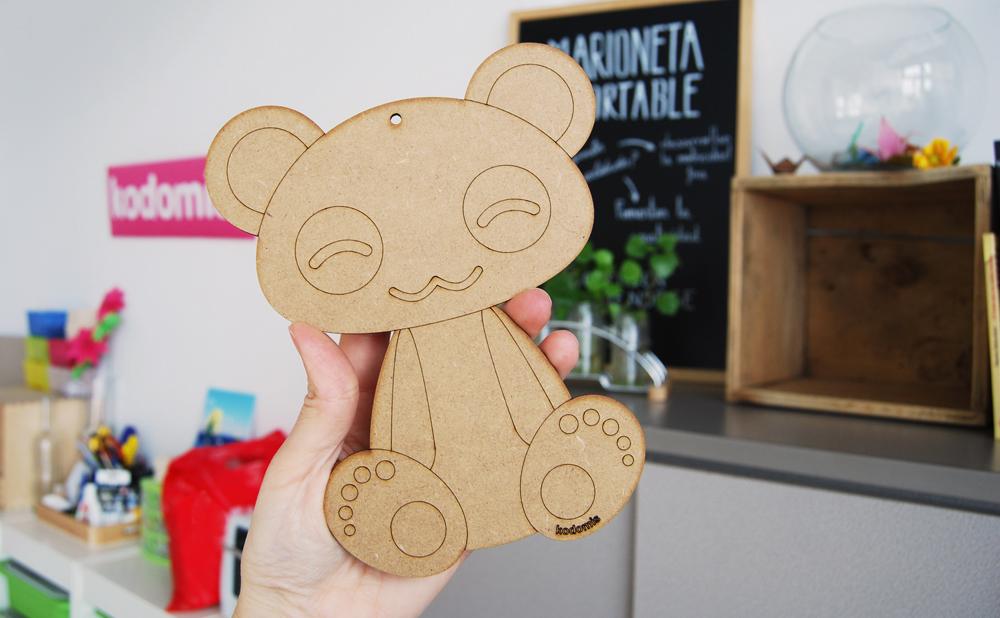 Kodomis DM madera Masukotto panda grande