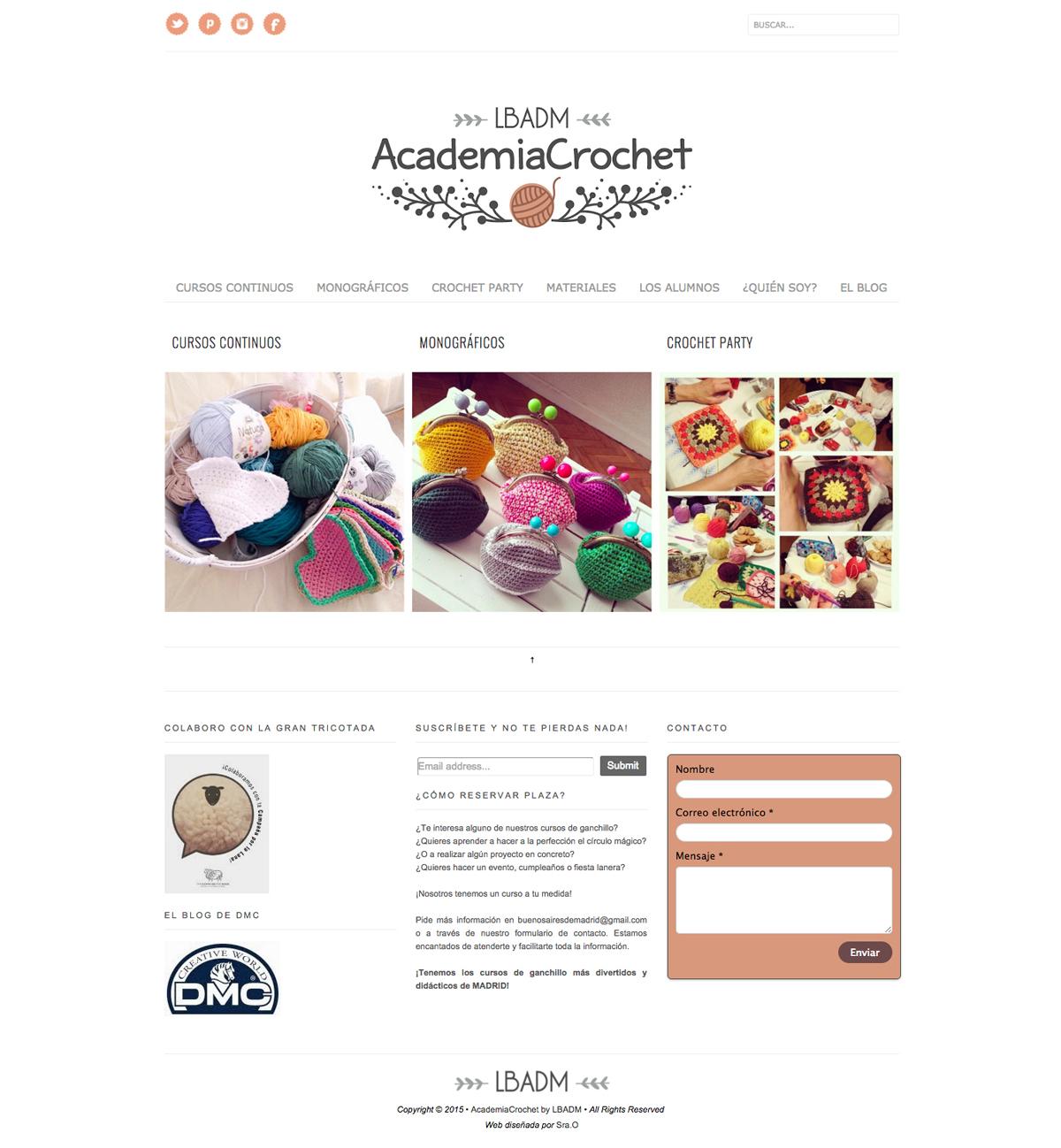 web academia crochet