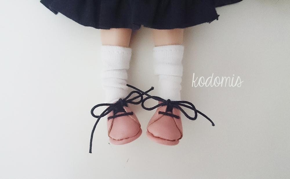 Zapatos para Blythe rosas 02