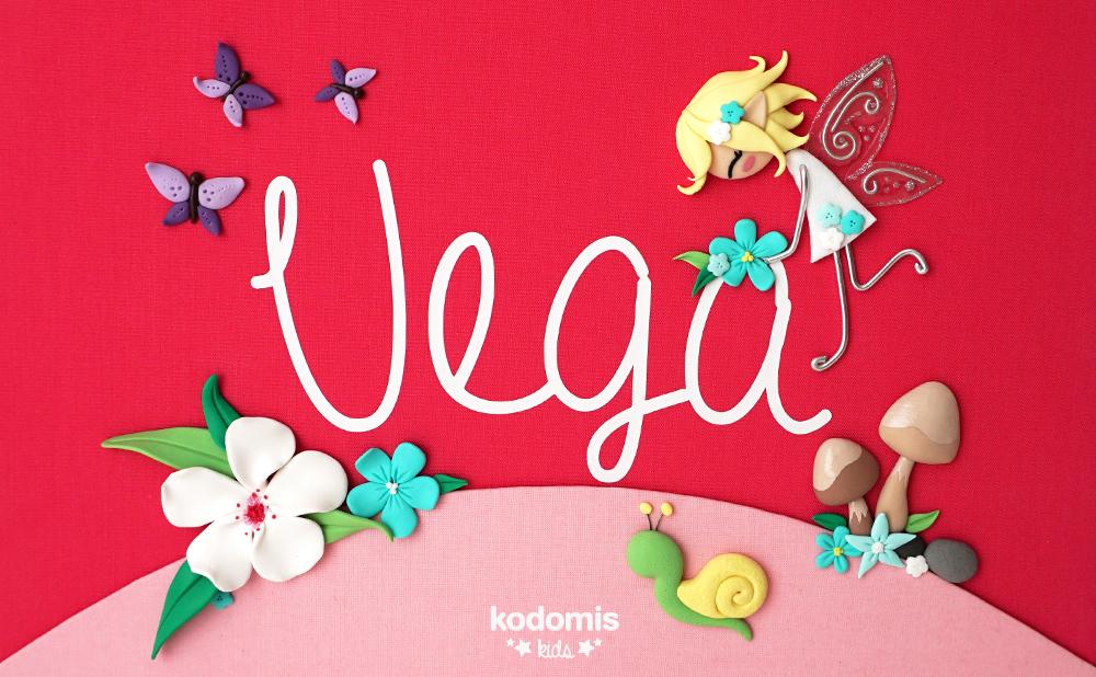 cuadros con nombres para niños Vega 03