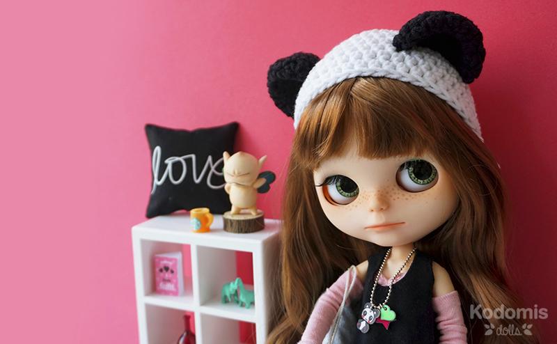 Blythe custom Midori Panda