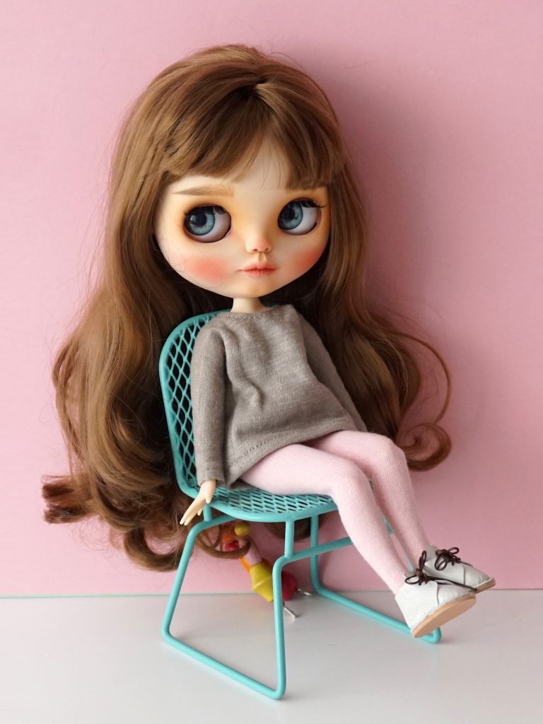 Blythe custom con ropa de estar por casa